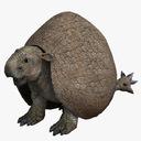 Doedicurus 3D models