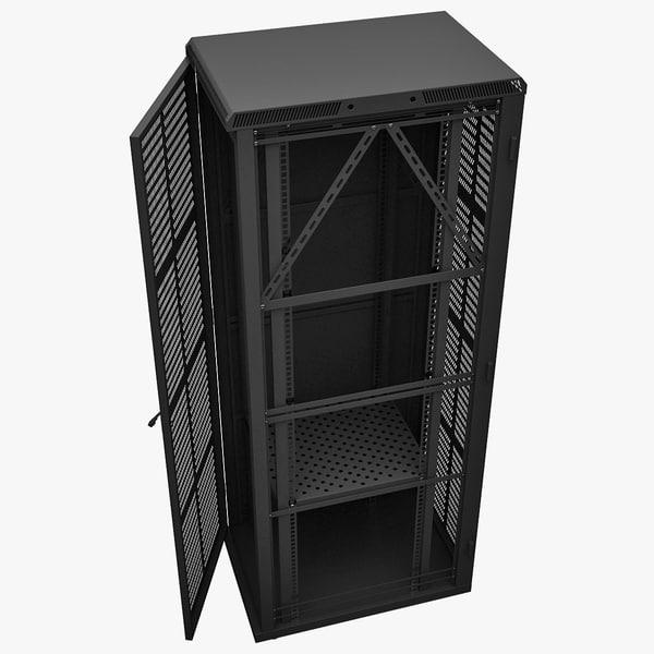 3d model server rack aesp