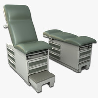 exam table 3d model