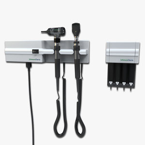 otoscope ophthalmoscope 3d model