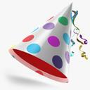 Party Hat 3D models