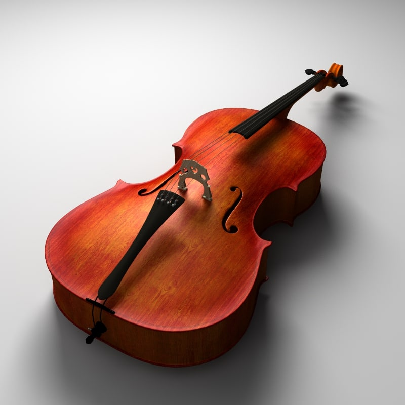 3d model subpatched cello