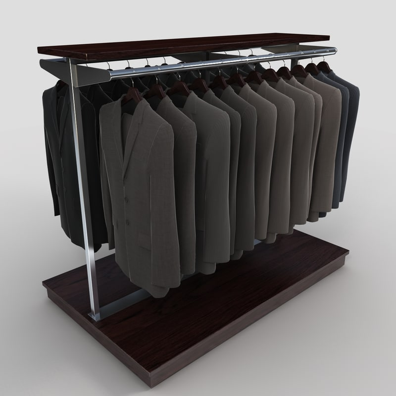 suit rack 3d max