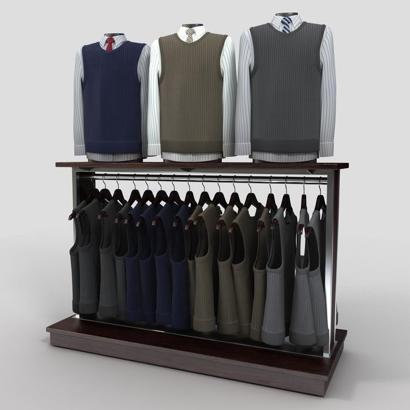 max mens vests displays