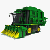 John Deere Cotton Picker