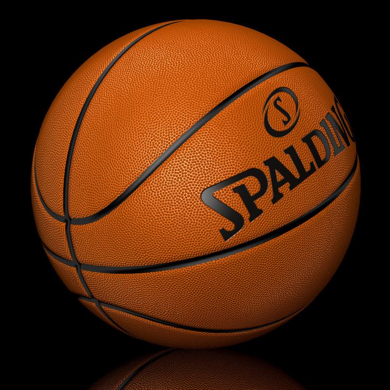 3d model basketball ball