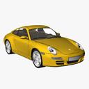 porsche 997 3D models