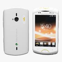 Sony Ericsson WT19i White