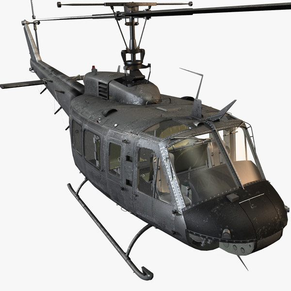 3d bell oh-58d kiowa warrior model