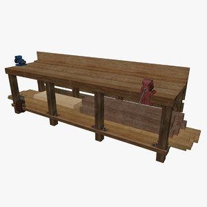 x work bench