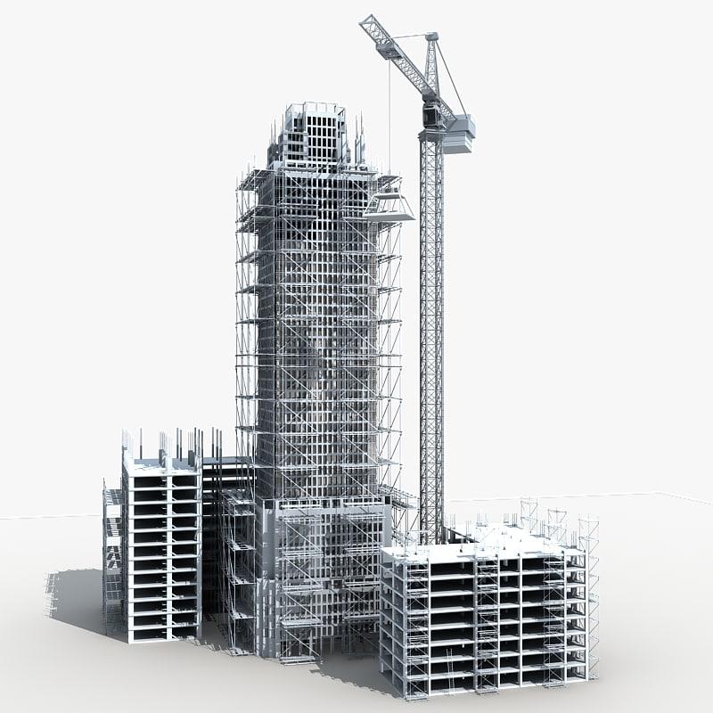 building construction 5 3d max f9b428a26d03