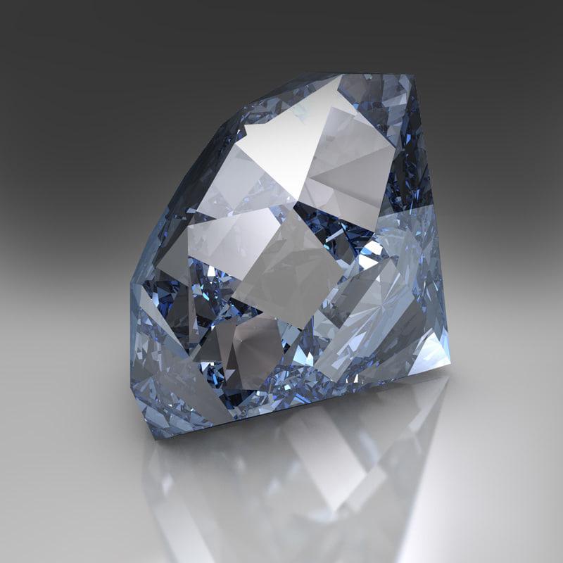 c4d diamond hdr scene