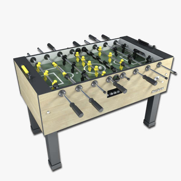 foosball table 3d max