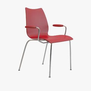 3d model kartell maui chair