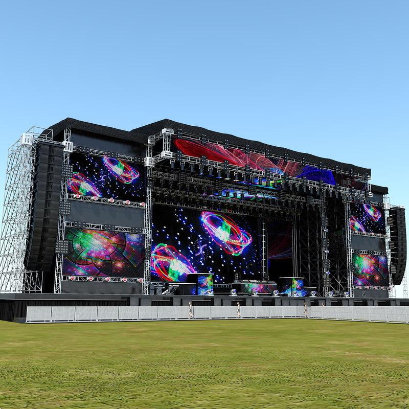 mega stage dj set