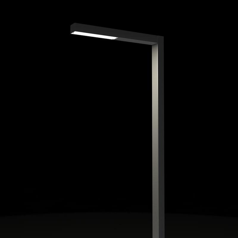 street light poles modern 3d max
