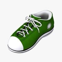 3d sport shoe model