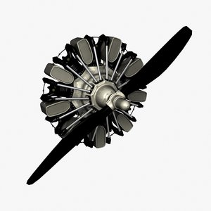 subpatch radial engine propeller lwo