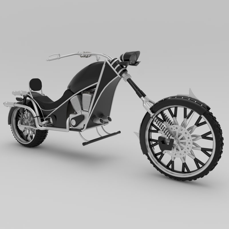 3dsmax bike