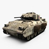 3d m2a2 bradley m2 model