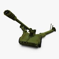3ds max norinco pll01 artillery