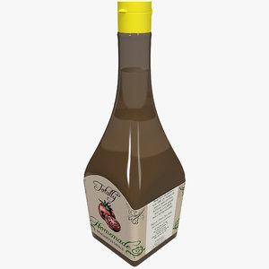 3ds max bottle spaghetti sauce