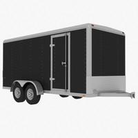 Trailer - Wells Cargo EW1625
