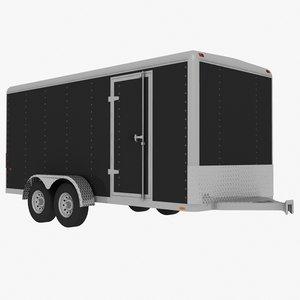 3d wells cargo ew-1625 trailer