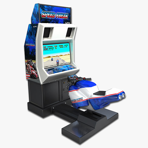3d arcade bike racing model