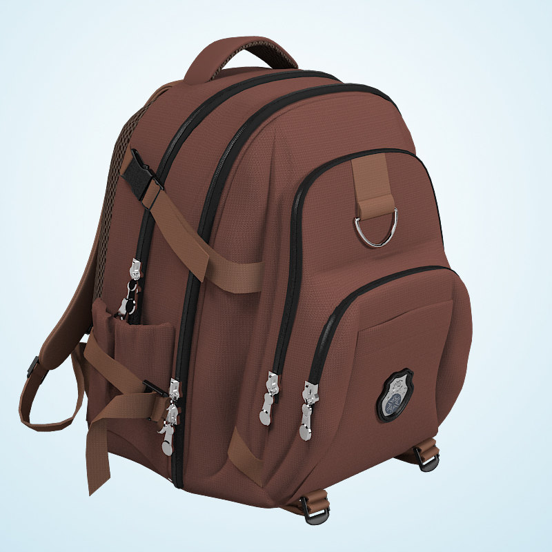 3d rucksack bag backpack