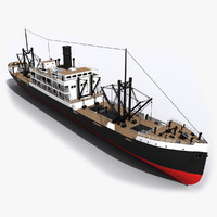old ship 3d max