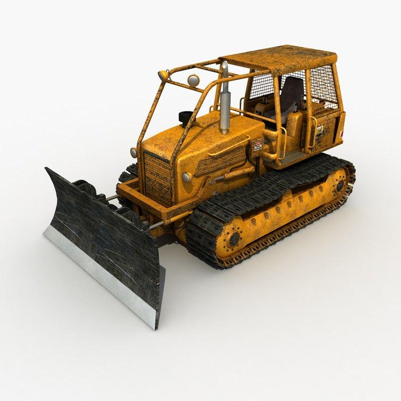 bulldozer modeled max