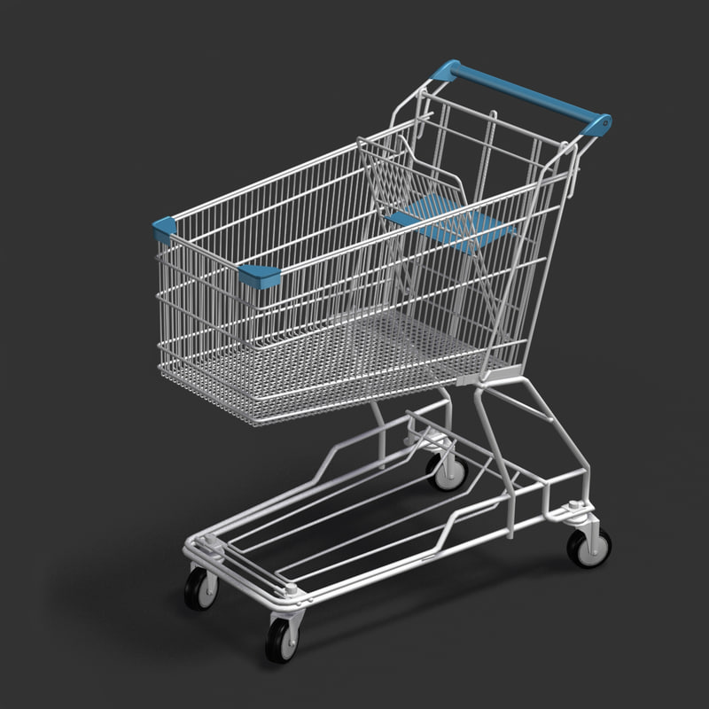 hoppingcart hopping 3d model