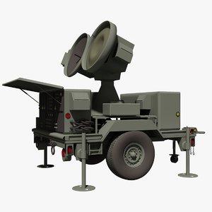 military hawk mpq 46 3d model