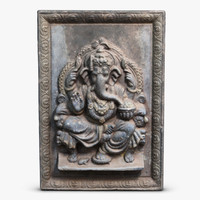 3d ganesha icon model