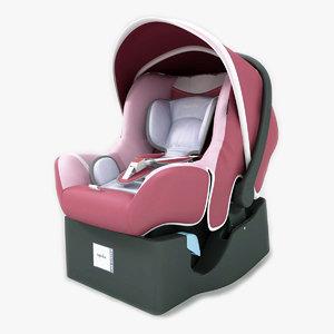 3d infant car seat huggy
