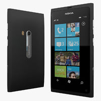 max nokia lumia 800 black