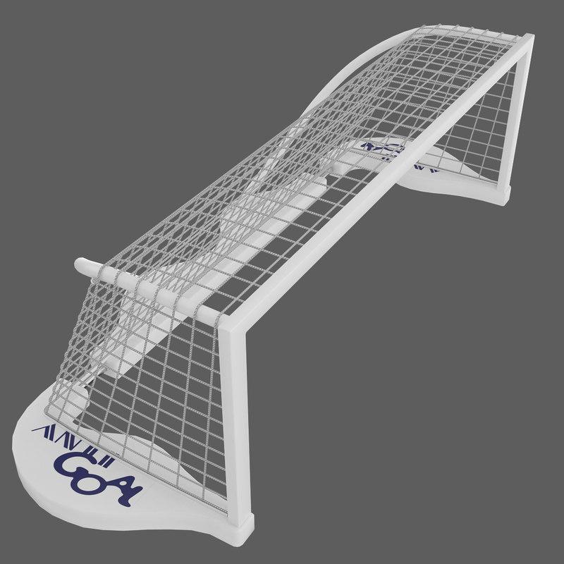 3d model water polo goal
