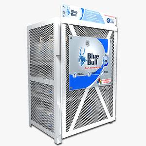 propane storage 3d model