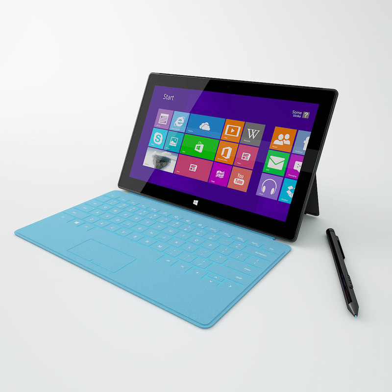 3ds max microsoft surface 2 pro