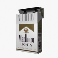 cigarettes 3d model