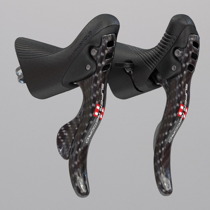 3d campagnolo ergopower bike controls model
