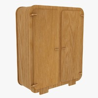 tall cabinet 3d max
