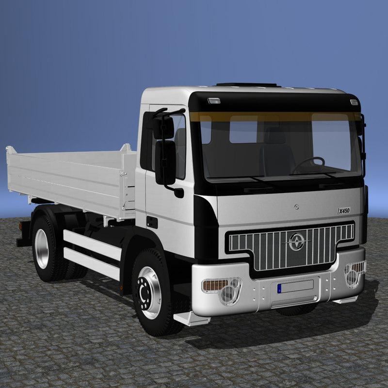 tipper 4x4 concept 3d model