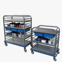 Medical Supply Cart 2