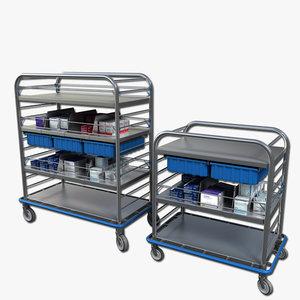 medical supply cart max