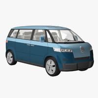 microbus concept 3d model