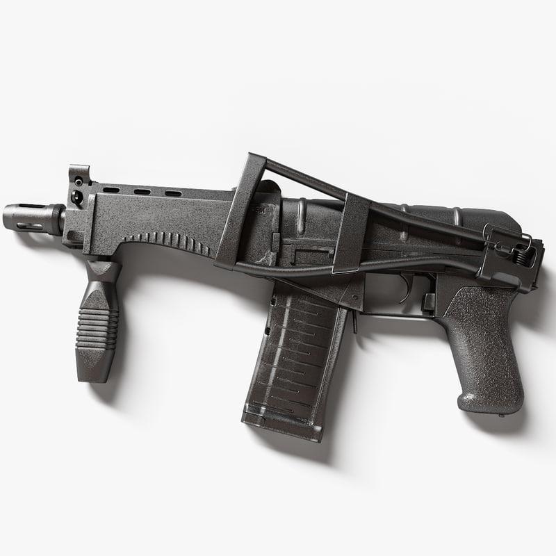 cp-3m machine gun 3ds