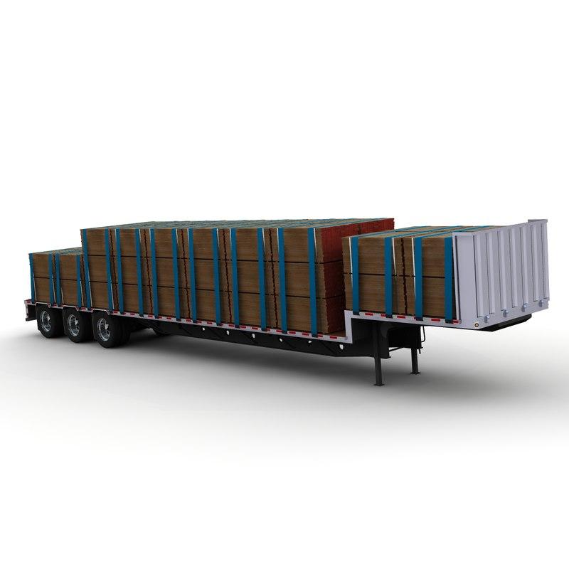 doonan axle drop deck 3d model