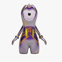 Wenlock - London 2012 Olympic Games Mascot